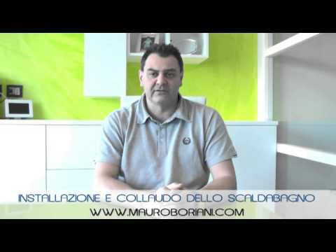 Installazione e collaudo dello scaldabagno youtube - Installazione scaldabagno ...