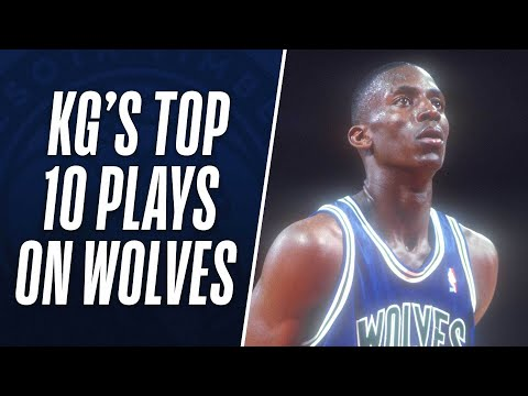 Kevin Garnett's Top 10 Plays on the Minnesota Timberwolves