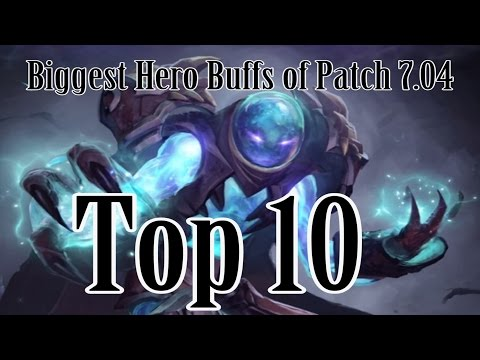 Top 10 hero buffs of patch 7.04