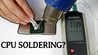 Is it possible to SOLDER a CPU afterwards?