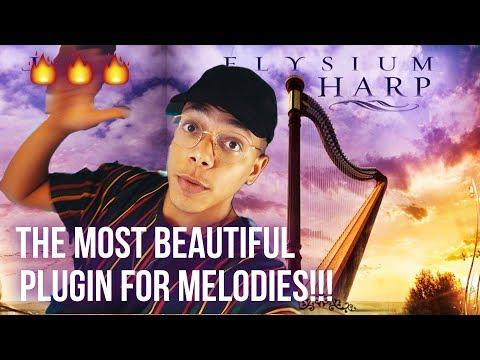 THIS PLUGIN WILL MAKE MY MELODIES SO BEAUTIFUL!!! (Elysium Harp Plugin Review)