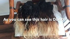 (2017) Restoring 2Yr Old Virgin Hair |Using the Boiling method!