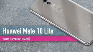 Huawei Mate 20 Lite hands-on