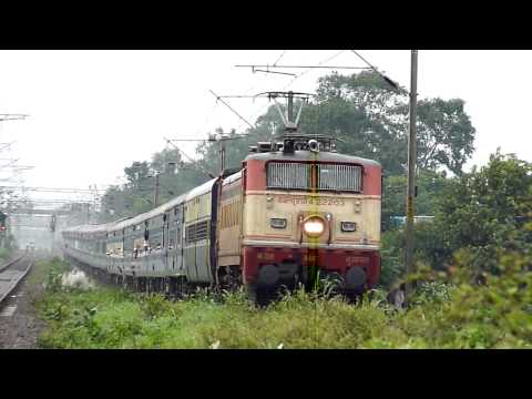 BSL WAP-4 LHB Hybrid GKP-LTT Superfast climbs the gradient Travel Video