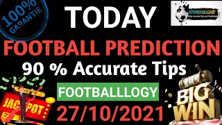 Football Predictions Today 27/10/2021   Soccer Prediction  Betting Strategy #freepicks #bettingtips screenshot 5