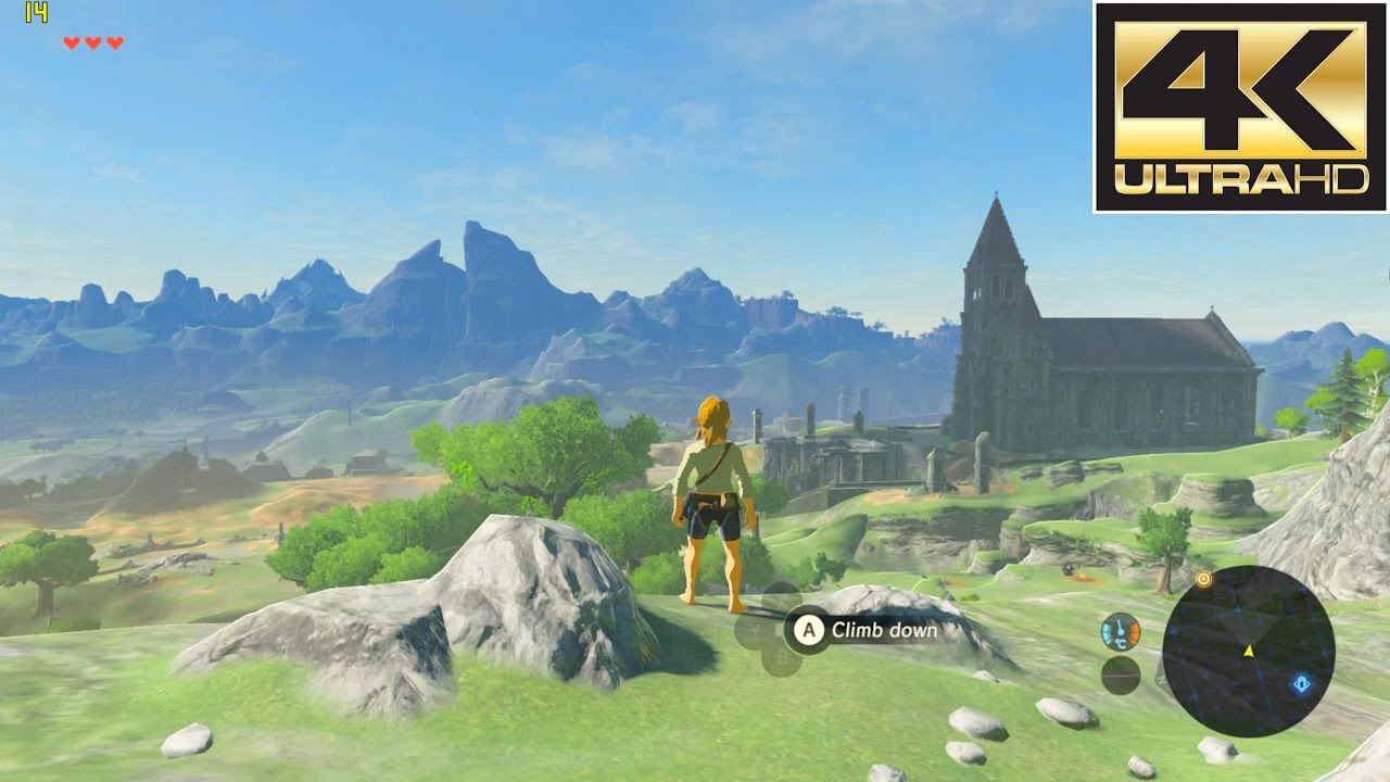 wii u emulator cemu zelda breath of the wild