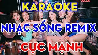 Karaoke thua một người dưng remix