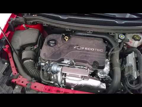 2016, 2017, 2018 & 2019 GM Chevrolet Cruze Ecotec Turbo 1.4L I4 Engine Idling After Oil Change