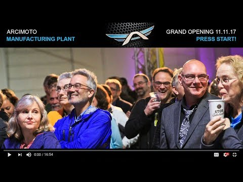 Arcimoto Manufacturing Plant Grand Opening