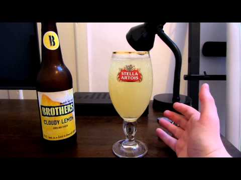 Brothers Cloudy Lemon Pear Cider Review