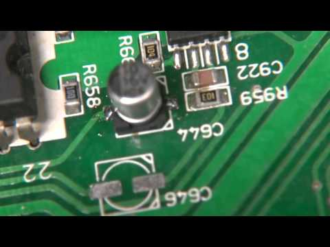 SMD CAPACITOR REPLACEMENT LUXMAN RV-371 THREE DIFFERENT WAYS.. PART 5