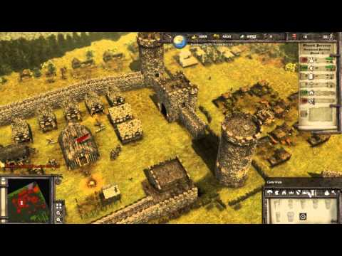 Stronghold 3 Multiplayer - 3 Players Free For All | Deathmatch