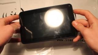 обзор планшетного компьютера Verico Uni Pad CM-USP02B-D Black