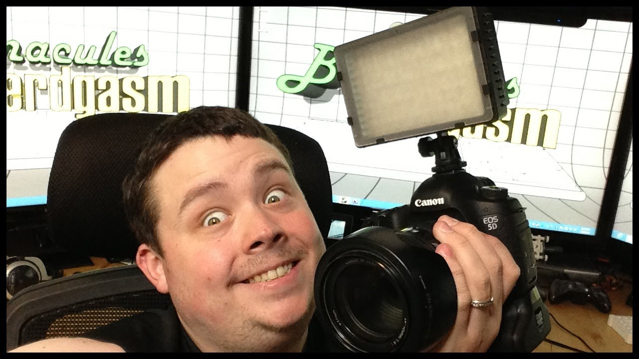 Nikon Pro Light Reviewing For Lamp Led 160 Camera Neewer Video Cn Yyb76fgv
