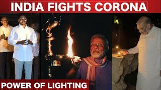 Politicians All Over India Supporting Modi's Stand – 9pm, 9mins Lighting