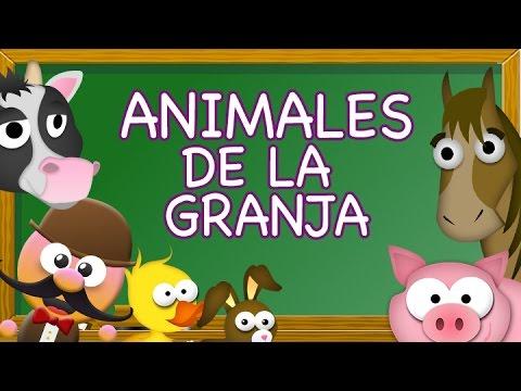 Animales De La Granja En Ingles Inglés Para Niños Con Mr Pea Youtube