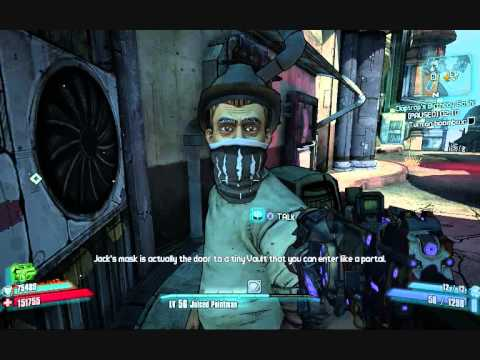 Borderlands 2 Funny Sanctuary Citizens Truth About Handsome Jack