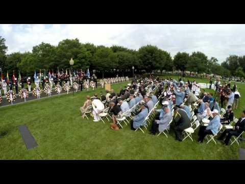 2015 06 25 KOREAN WAR MEMORIAL CEREMONY WASHINGTON, DC
