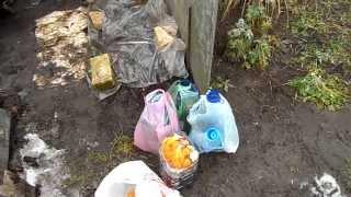 видео Навес для мусорных контейнеров: материалы и виды