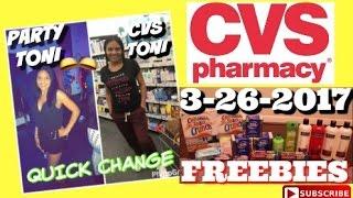 CVS 3/26/17 In-Store Couponing | Freebies Freebies & Freebies