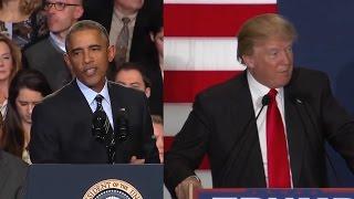 Obama's Response To Hecklers Vs. Trump's: A Comparison