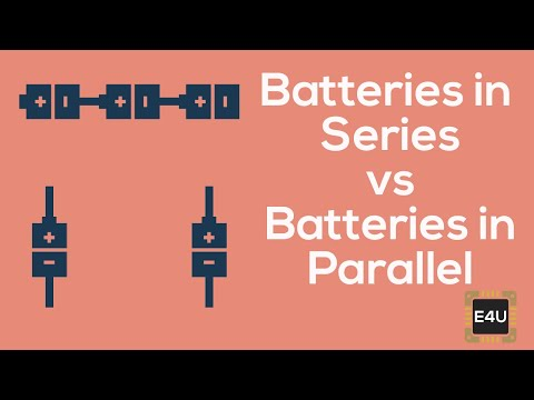 Series And Parallel Combination Of Battery Cells Youtube