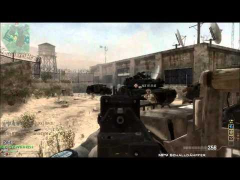 MW3: 41 GUNSTREAK ON DOME W/UNSILENCED...