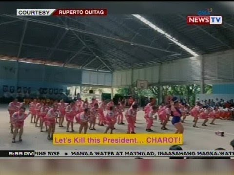 "QRT: ""Let's kill the president. charot!"" na linya sa cheer ng skimmers ng UP Visayas, binatikos"