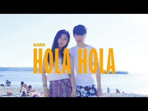 Cover Lagu [KPOP IN PUBLIC] KARD (카드) - HOLA HOLA (올라 올라) Dance Cover | Hagan ft. Anson (Anson ALOHA) STAFABAND