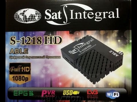 Sat Integral S 1218 HD ABLE