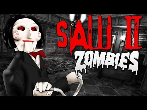 SAW 2 ZOMBIES PUZZLE MAP! *Extreme Difficulty* (Call of Duty Black Ops 3 Custom Zombies)
