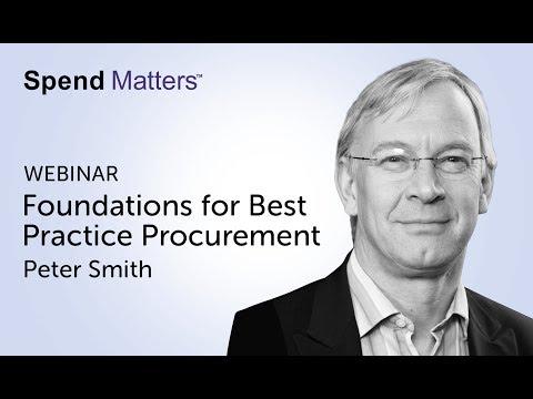 Foundations for Best Practice Procurement
