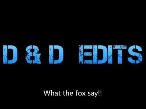 what the fox say (refrain) (karaoke)