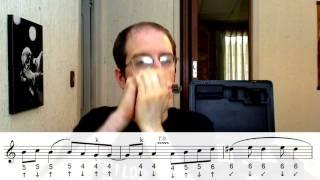 Cuando Estés Acá - Armónica tutorial