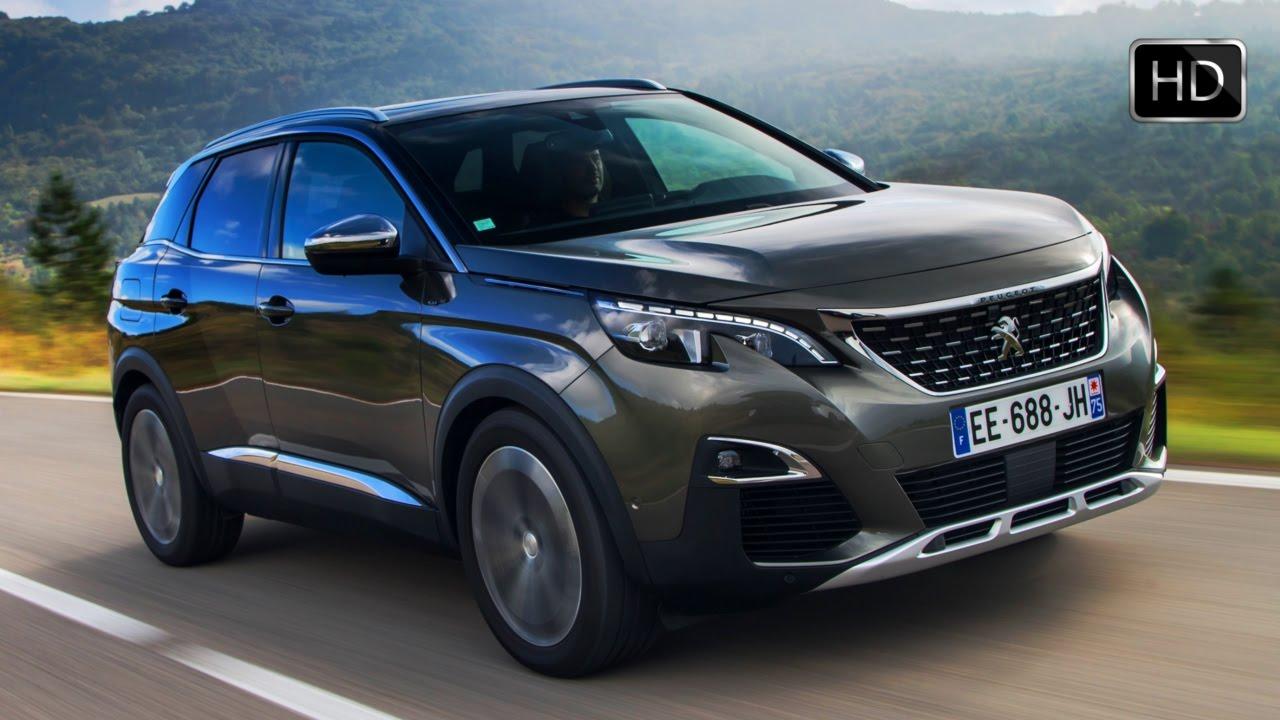 Peugeot Gt Line Suv Exterior Design Road Drive Hd