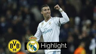 Real Madrid Vs Borussia Dortmund 3-2 - Goals And Extended Highlight - UCL 6/12/17