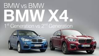 全新世代BMW X4與第一代BMW X4完整比較