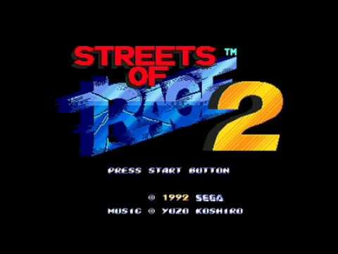 ♫ Streets of Rage 2 Soundtrack - Shiva's Fight