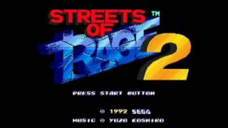 ♫ Streets of Rage 2 Soundtrack - Shiva
