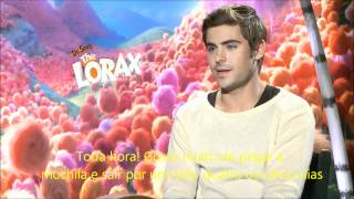 Zac Efron and Taylor Swift Interview for The Lorax legendado