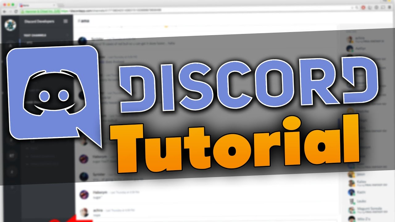 Discord Tutorial (Deutsch) Grundlagen