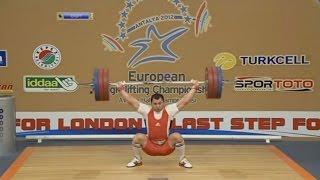 2012 European Championships Men 85 Kg