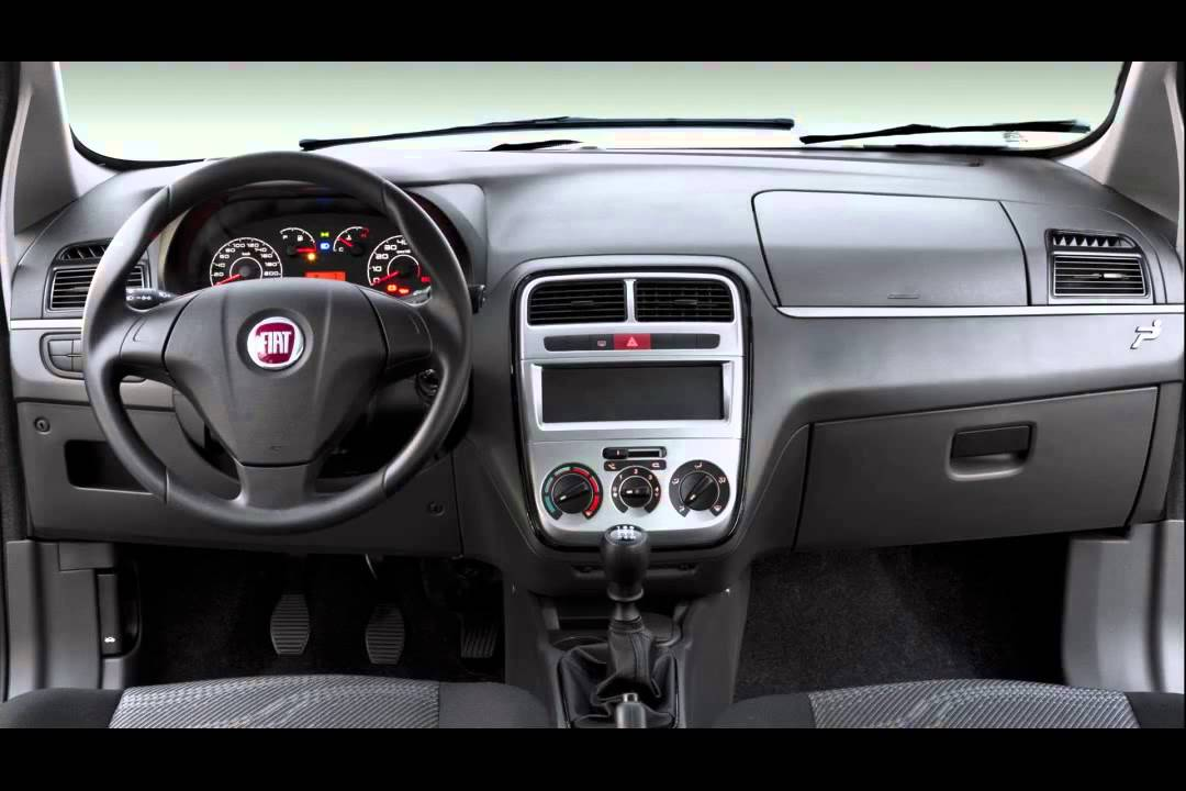 Fiat punto attractive 1 4 youtube for Precio fiat idea attractive 2013