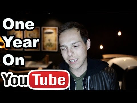 YouTube changed my life (Started exactly one year ago today)