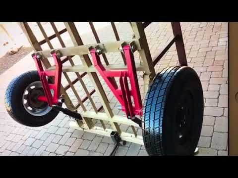 Independent Suspension AIR RIDE Off Road Trailer for sale ...