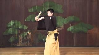 大河ドラマ「江~姫たちの戦国」オープニングの舞(扇バージョン)