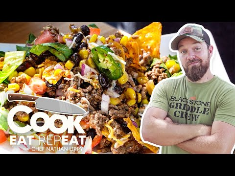 The Best Taco Salad Recipe Just Like Mama Used To Make | Cook Eat Repeat | Blackstone Griddles