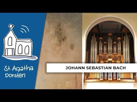 """Orgelspiel Johann Sebastian Bach - Choralbearbeitung """"Wenn wir in höchsten Nöten sein""""из YouTube · Длительность: 2 мин9 с"""