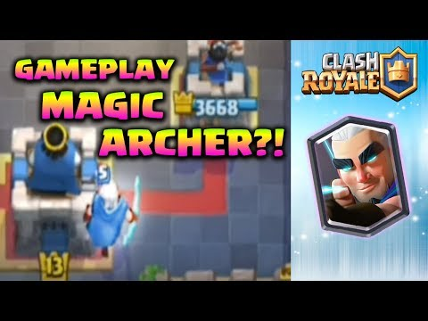 GAMEPLAY MAGIC ARCHER DAH ADA??!! - Clash Royale Indonesia