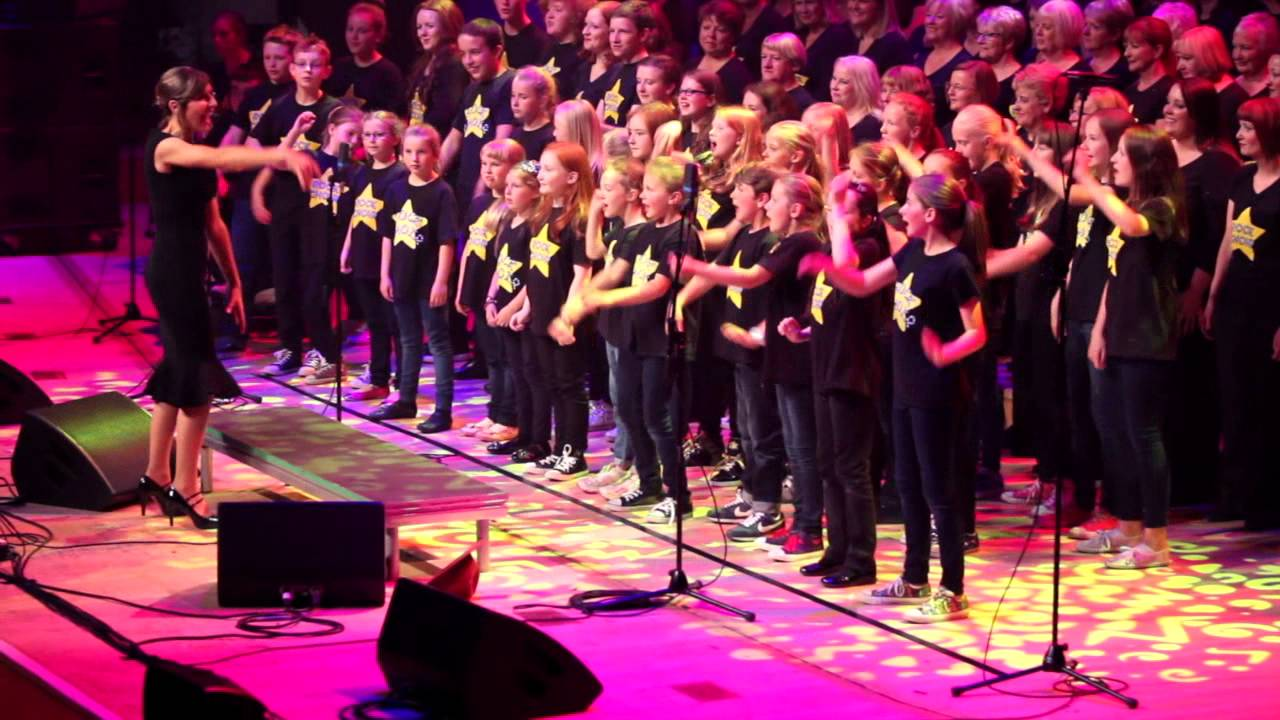 teen rock choir happypharrell williams glasgow ro